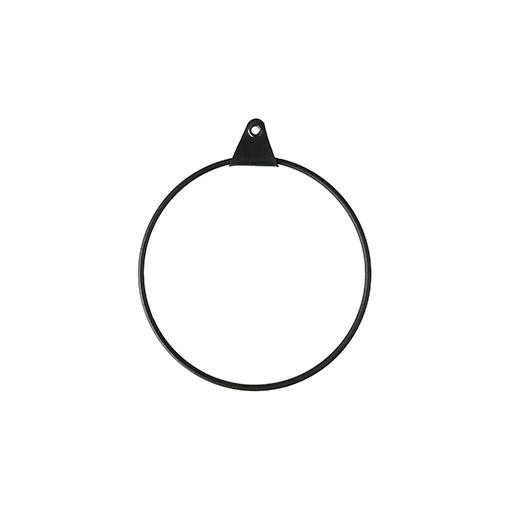 Metallirengas-16-cm,-musta Strups